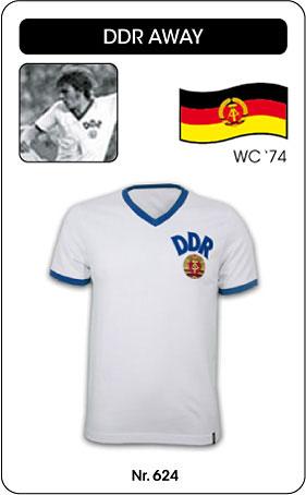 DDR Retro Trikot 1974 Auswärtstrikot