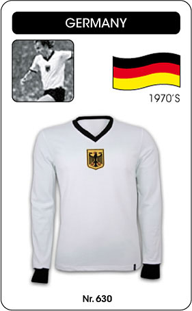 Deutschland Retro Trikot Langarm