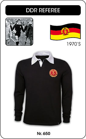 DDR Schiedsrichter - Referee - Trikot