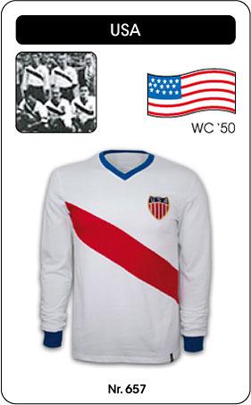 USA Retro Trikot Weltmeisterschaft 1950