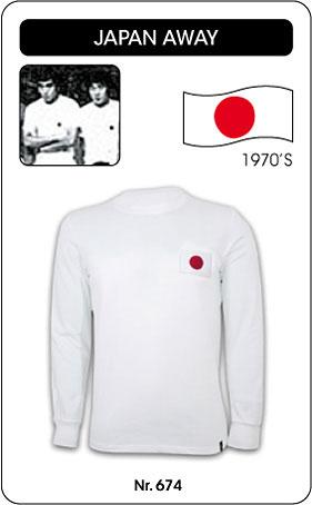 Japan Retro Trikot Langarm