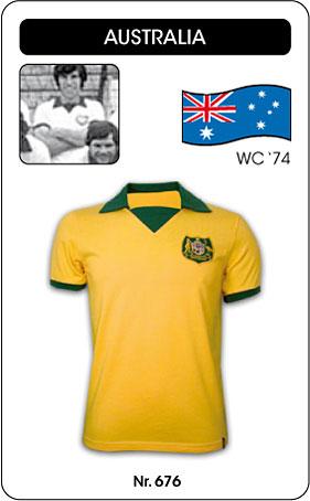Australien Retro Trikot 1974