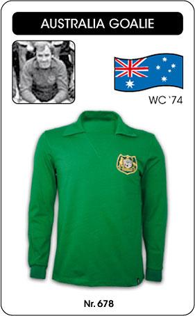 Australien - Australia -  World Cup 1974 - Trikot