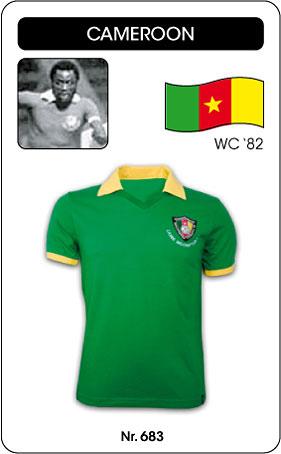 Kamerun Retro Trikot 1982