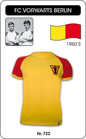 FC Vorwaerts Berlin Retro Trikot