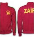 Zaire Retro Fussball Jacke