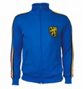 BELGIEN RETRO TRAININGSJACKE BLAU