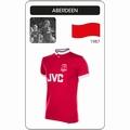 ABERDEEN F.C. 1987/88 TRIKOT