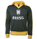 BRASILIEN RETRO JACKE FUSSBALL