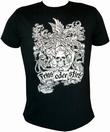 Shirt - Friss oder stirb - schwarz