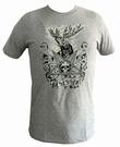 Shirt - Besessen - grau