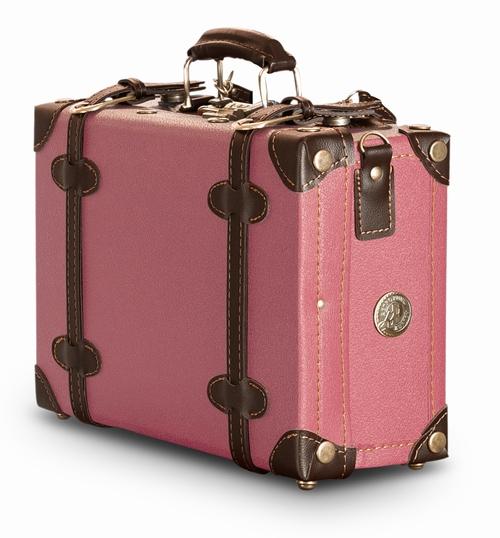 retro punk koffer pink messenger vintage koffer. Black Bedroom Furniture Sets. Home Design Ideas