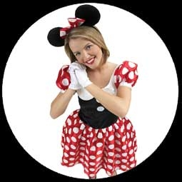 kost me von k 39 n 39 k minnie maus kost m disney costumes. Black Bedroom Furniture Sets. Home Design Ideas