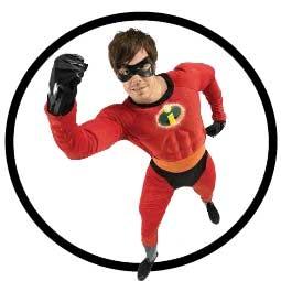 Mr. Incredible Kostüm - Disney - Klicken für grössere Ansicht