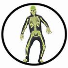 Skelett Kostüm - Leuchtet im Dunkeln
