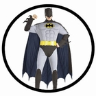 BATMAN RETRO KOST�M DELUXE - 60ER JAHRE - ANIMATED SERIES
