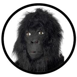 Gorilla Maske - Affenmaske - Klicken f�r gr�ssere Ansicht