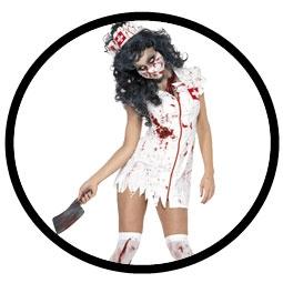 Zombie Krankenschwester Kostüm - Klicken für grössere Ansicht