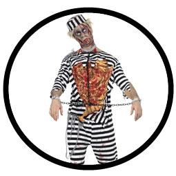 Zombie Sträfling Kostüm - Klicken für grössere Ansicht