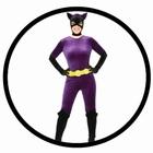 Catwoman Retro Kost�m Deluxe - 60er Jahre