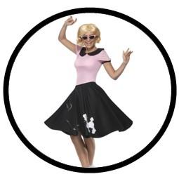 50er Jahre Kostüm Petticoat - Klicken für grössere Ansicht