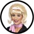 50er Jahre Beehive Bob Perücke blond