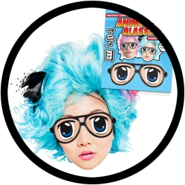 Anime Eyes Brille - Klicken für grössere Ansicht