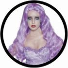 Geister Braut Perücke violett