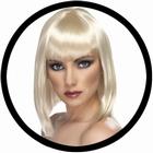 Glam Perücke blond