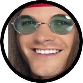 Hippie Brille - Klicken für grössere Ansicht