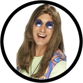 Hippie Perücke - Klicken für grössere Ansicht