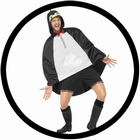 Party Poncho - Pinguin