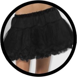 Petticoat schwarz - Klicken für grössere Ansicht