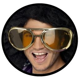Riesen Mega Disco Brille - Klicken für grössere Ansicht