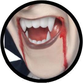 Vampir Kit - Kunstblut und Vampirzähne
