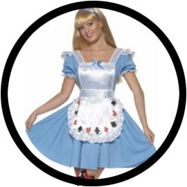 Alice im Wunderland Kostüm  - Klicken für grössere Ansicht