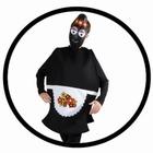 Barbamama Kostüm - Erwachsene Barbapapa schwarz
