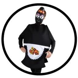 Barbamama Kostüm - Erwachsene Barbapapa schwarz - Klicken für grössere Ansicht