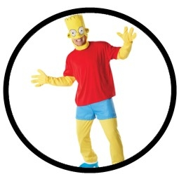 Bart Simpson Kostüm Erwachsene - The Simpsons - Klicken für grössere Ansicht