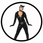 2 x CATWOMAN KOSTÜM DELUXE - OVERALL