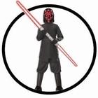 Darth Maul Kinder Kostüm Box mit Doppel-Lichtschwert - Star Wars