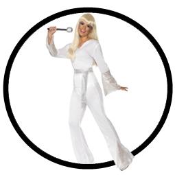 Disco Lady Kostüm 70er Jahre - Klicken für grössere Ansicht