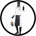2 x DR. D RANGE KOSTÜM - VERRÜCKTER DOKTOR KOSTÜM