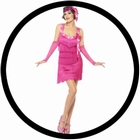 Flapper Hotty Kost�m pink