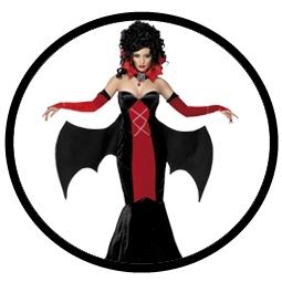 Gothic Vampir Kostüm Damen - Klicken für grössere Ansicht