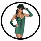 Green Hornet Damen Kostüm - Grüne Hornisse