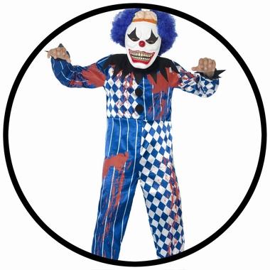 Horror Clown Kostüm - Kinder - Klicken für grössere Ansicht