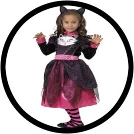 Katzen Prinzessin Kinder Kostüm - Klicken für grössere Ansicht