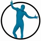K�rperanzug - Bodysuit - Blau