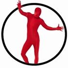 Körperanzug - Bodysuit - Rot